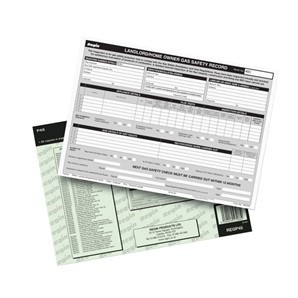 M030 : LANDLORDS GAS SAFETY RECORD PAD