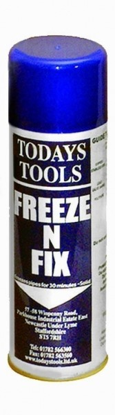 Freeze N Fix Spray, Pipework Freezer, (500gm)