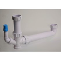 Under Sink Plumbing Kit, 1 1/2 bowl