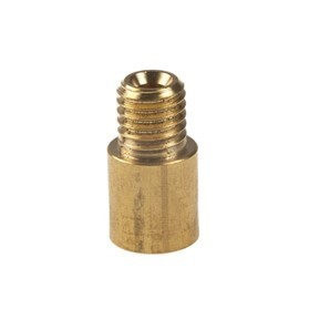 P078 : PACK 10, MUNSEN RING BACKPLATE EXTENSION, BRASS, M10