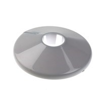 110mm Pipe Covers, plastic, white